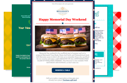 Constant Contact Email Template Example