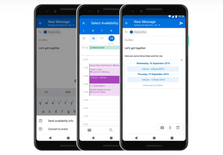 Outlook Email App