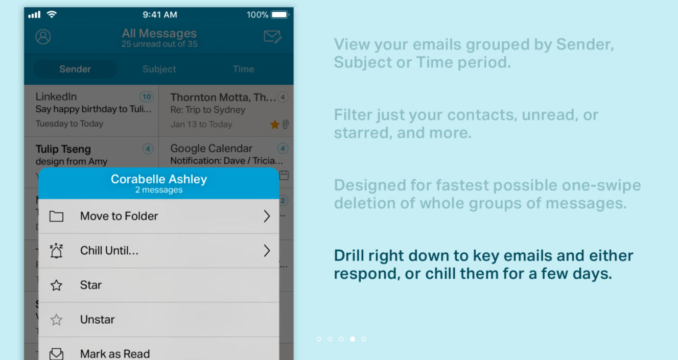 Chuck Email App