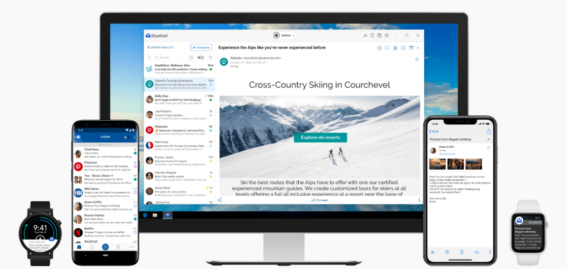 BlueMail Email App