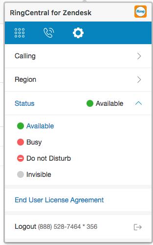 RingCentral Dialer App