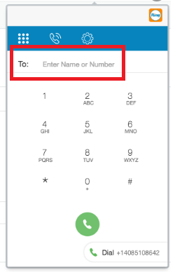 RingCentral Contact Search