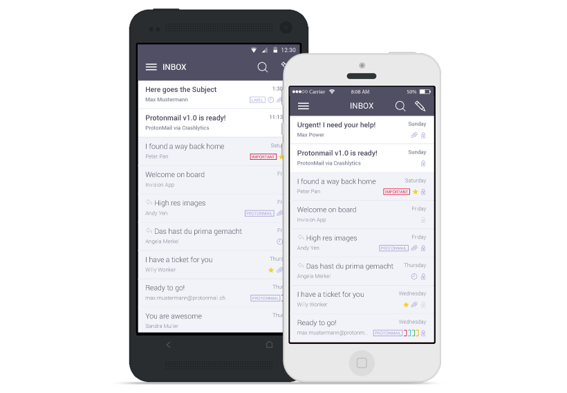 ProtonMail Email App