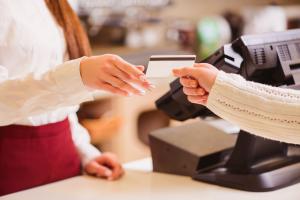 handling of credit card