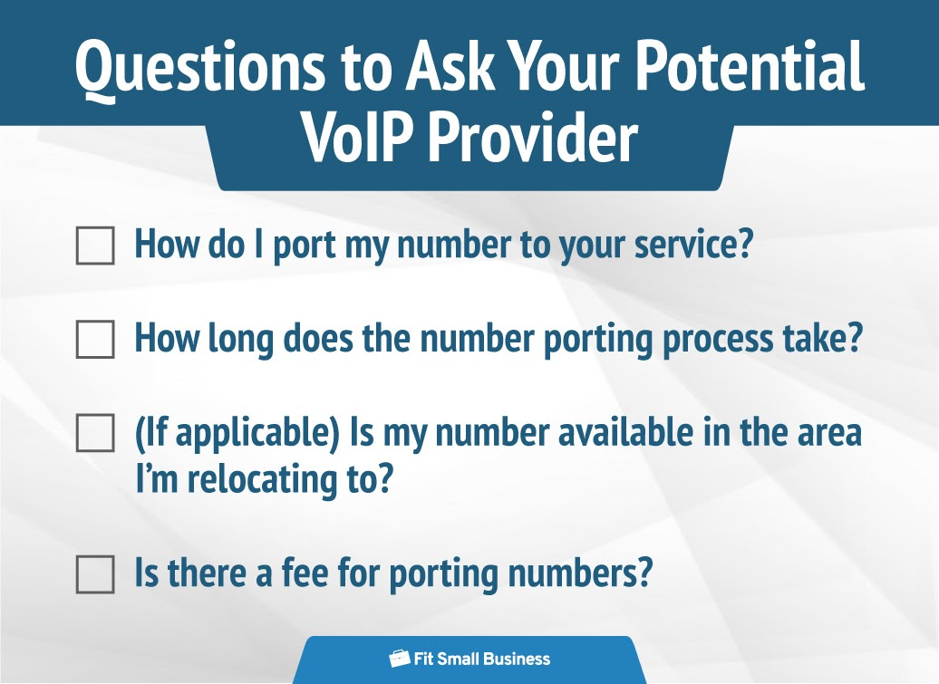 Questions to ask your potential VoIP Provider