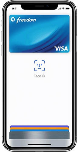 Screenshot of Using Facial Recognition for Payment