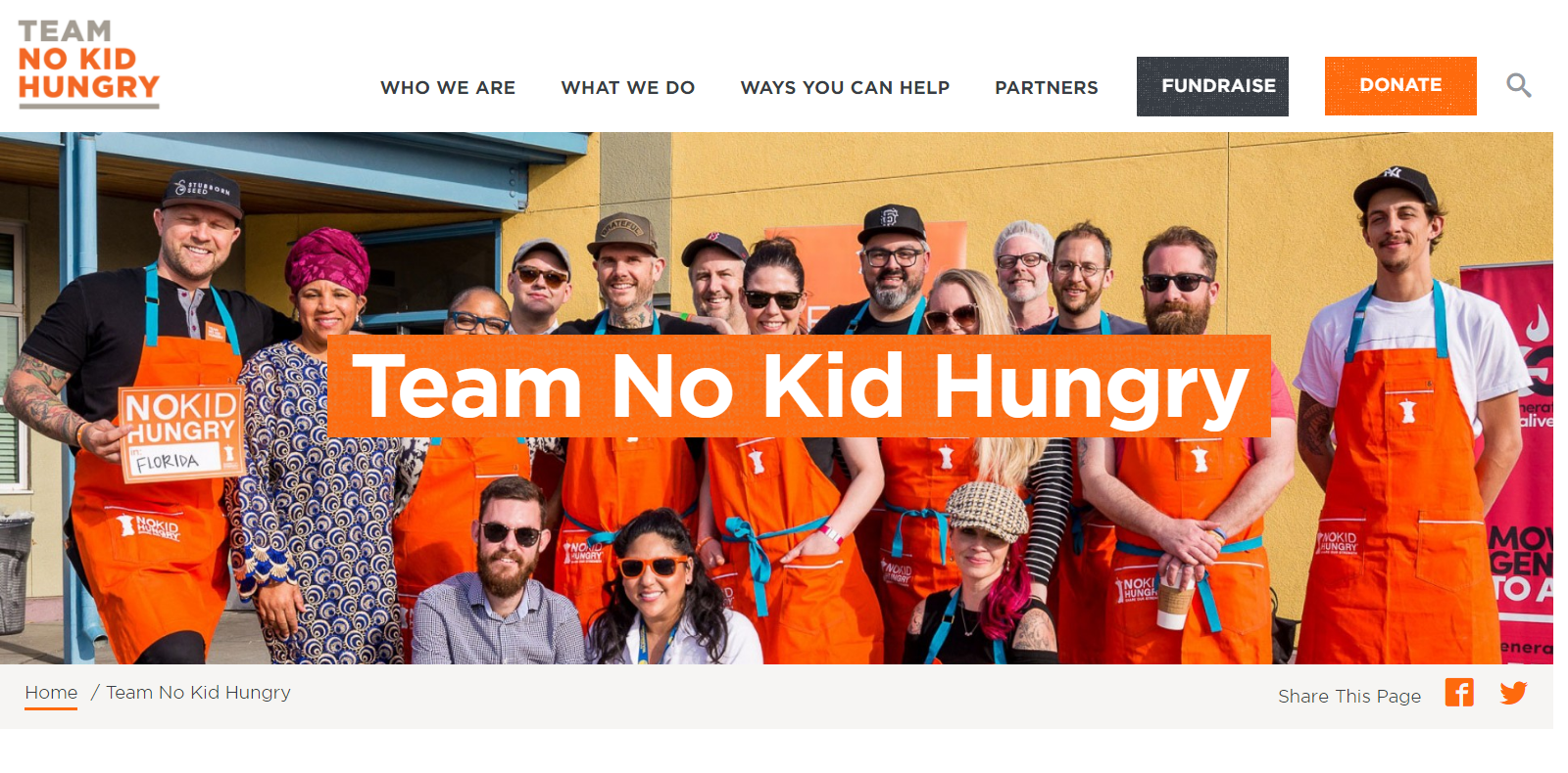 Share Our Strength's No Kid Hungry campaign