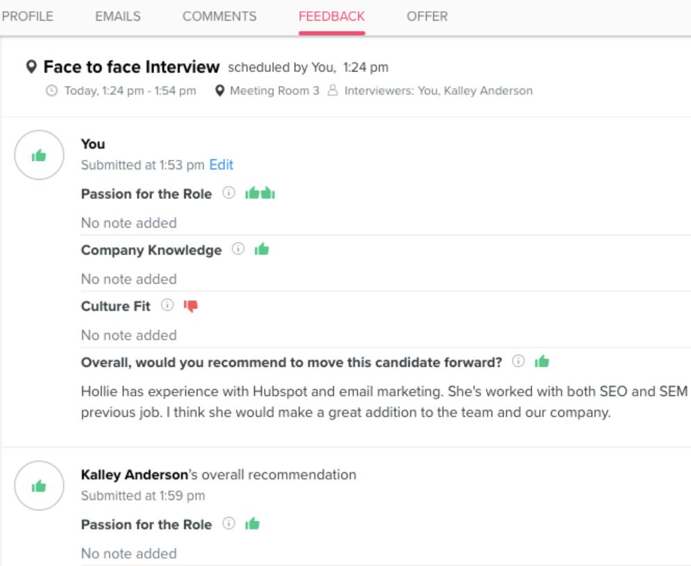Recruiterbox collaborative recruiting