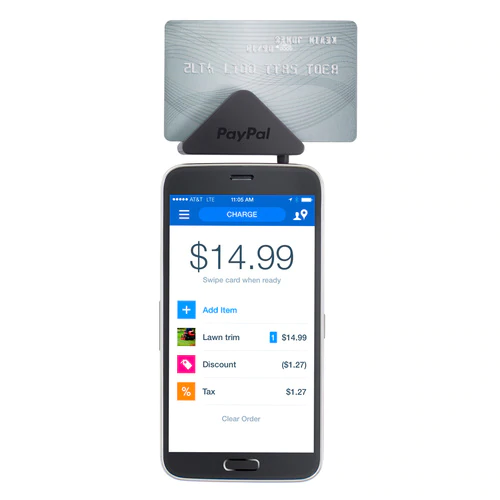 paypal mobile app on a phone