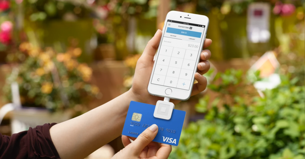 Square Card Reader in Phone