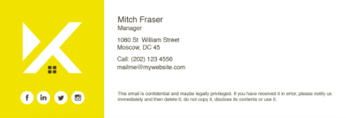 Custom Email Signature From Fiverr