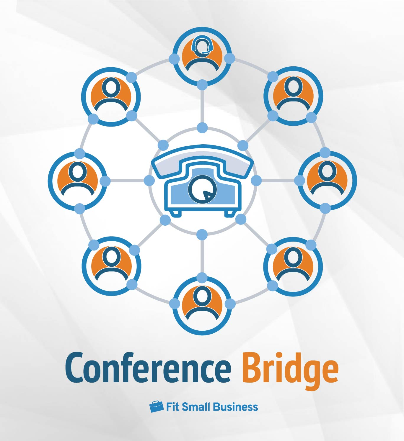 FSB Infographics - How a Conference Bridge Works