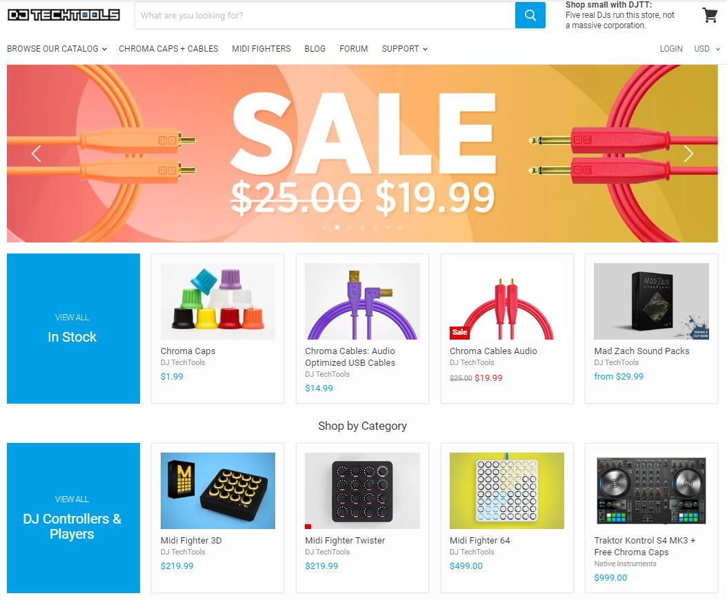 DJ Tech Tools music blog online store for DJs