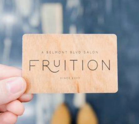 Frution - Example Salon Gift Card