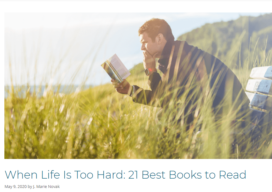 Example of a recommended reading list blog post