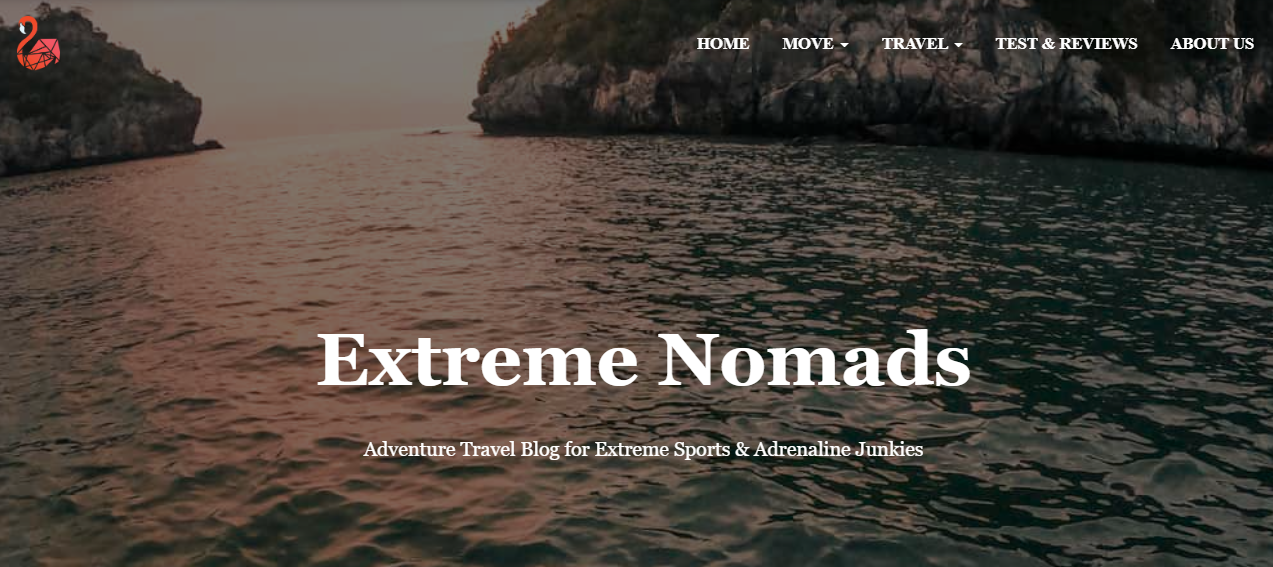 Extreme Nomads adventure blog