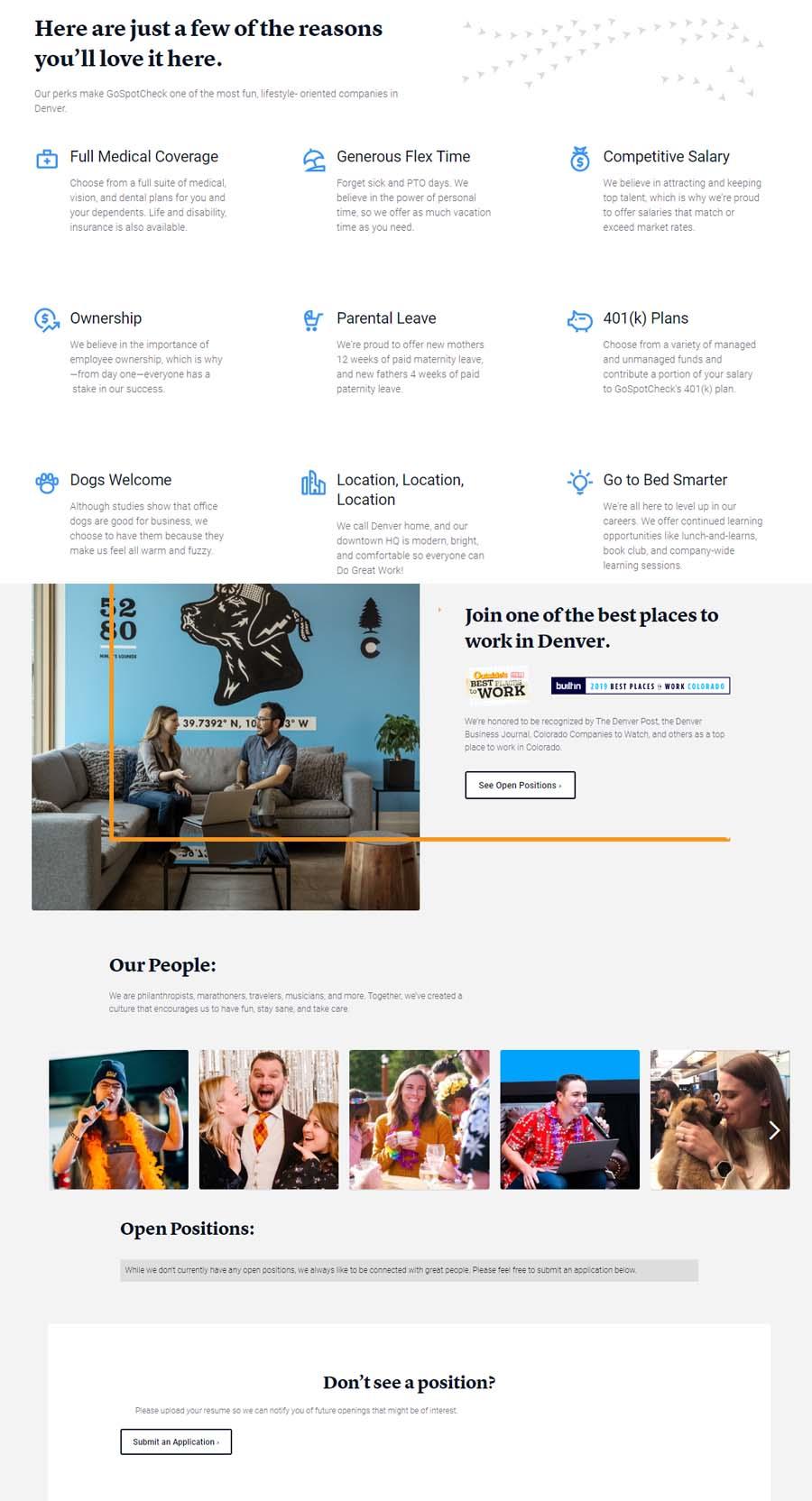 GoSpotCheck Landing Page