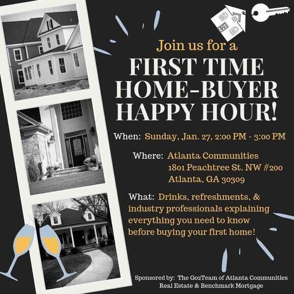Home-Buyer Happy Hour