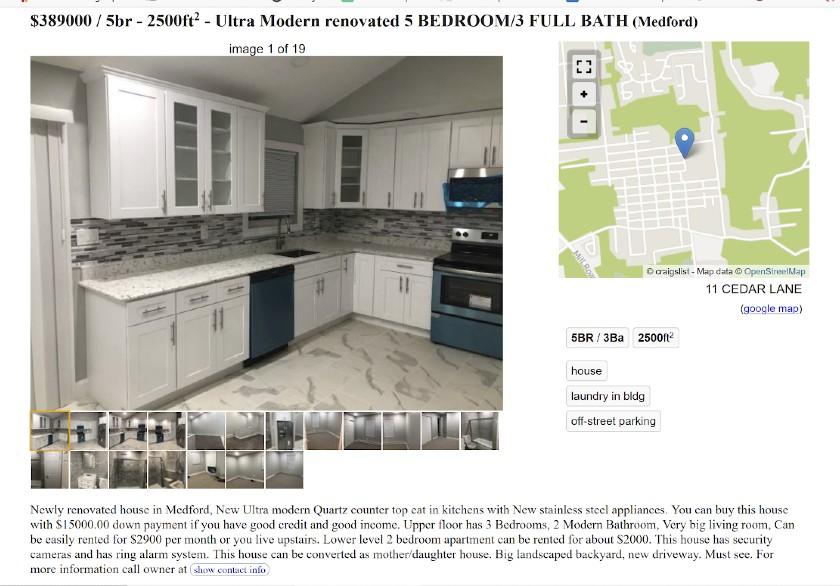 Craigslist Property