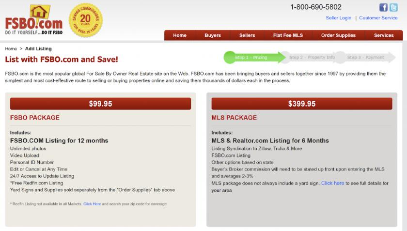 FSBO.com Homepage
