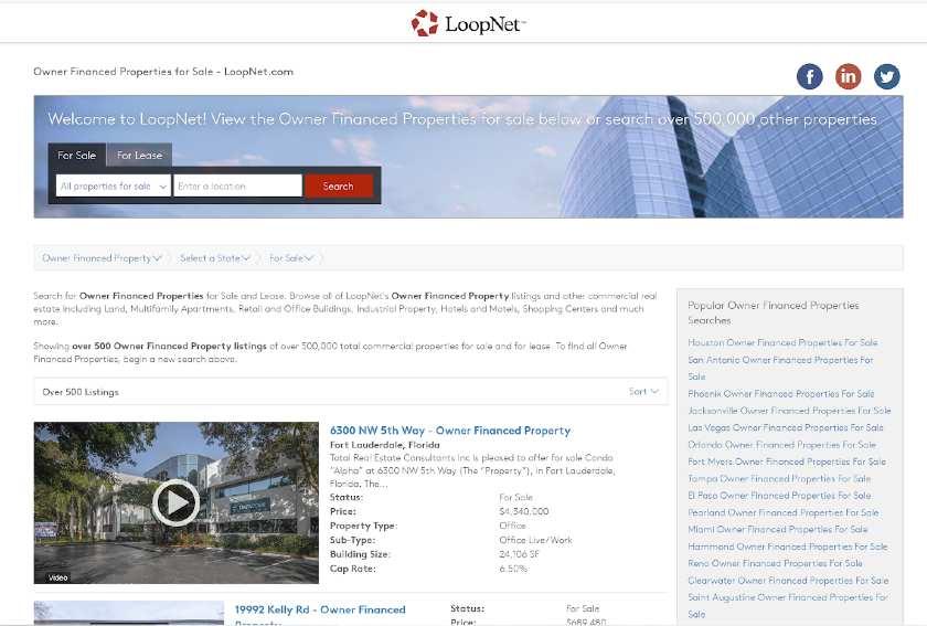 LoopNet Homepage