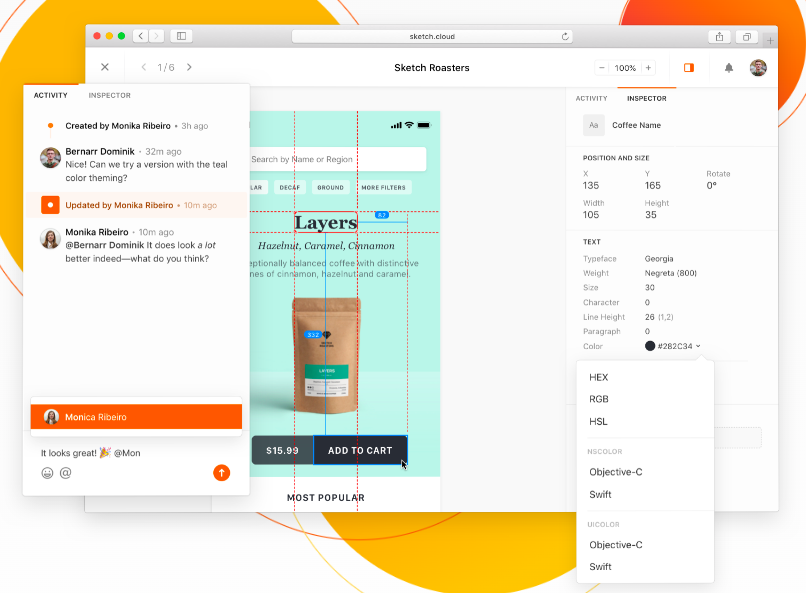 Sketch UI Design Tool