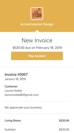 Square Invoicing