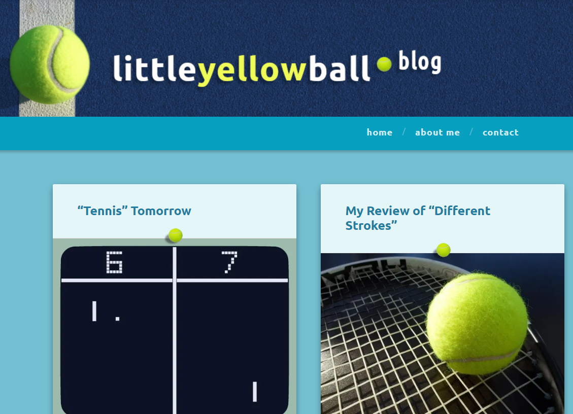 The Little Yellow Ball blog