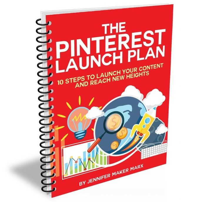 The cover image for The Pinterest Launch Plan