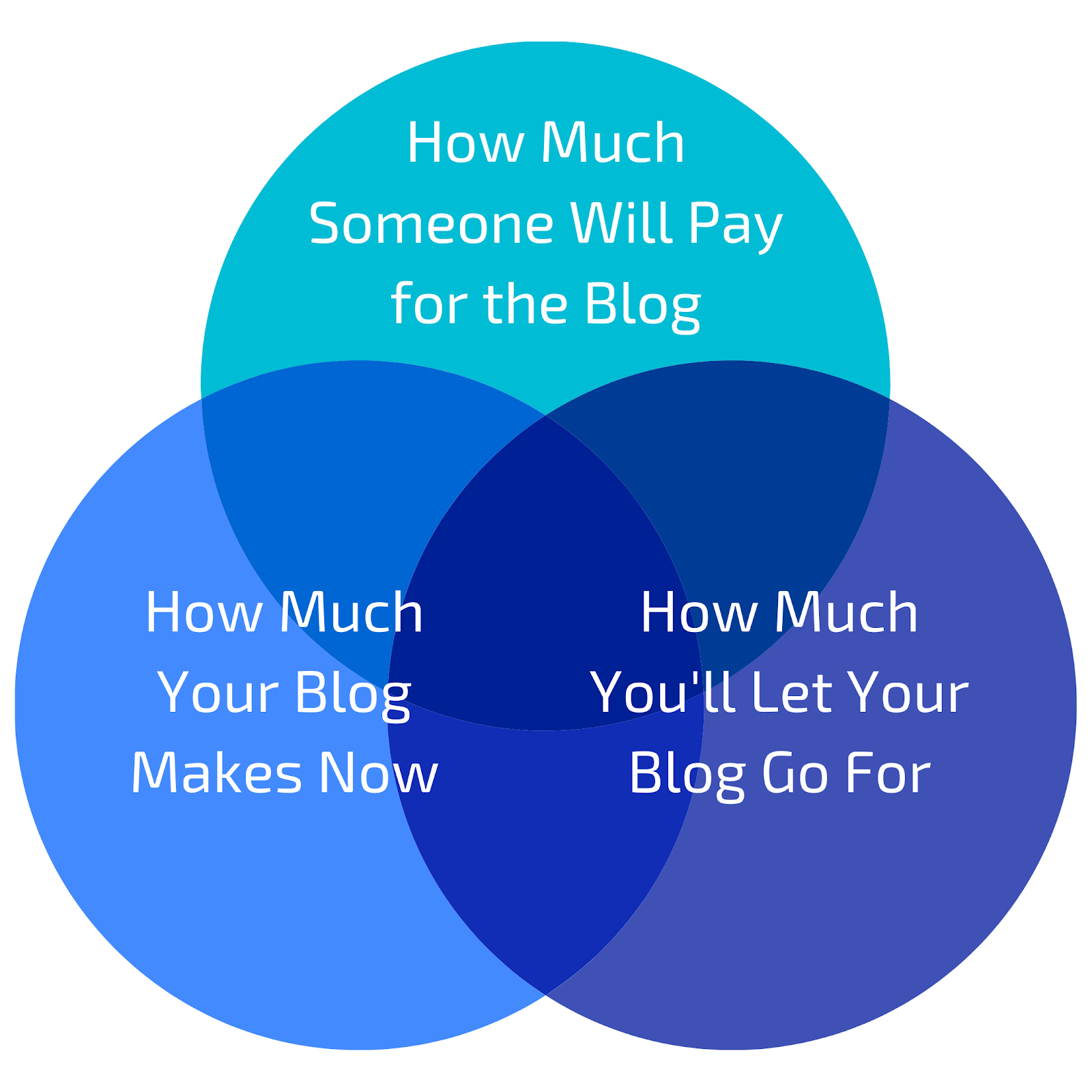 important things to consider when valuing your blog infographic