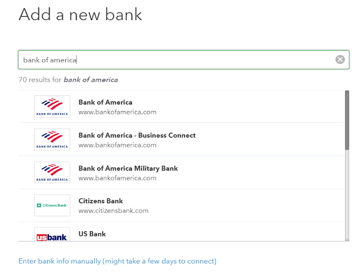 Add a New Bank Feature