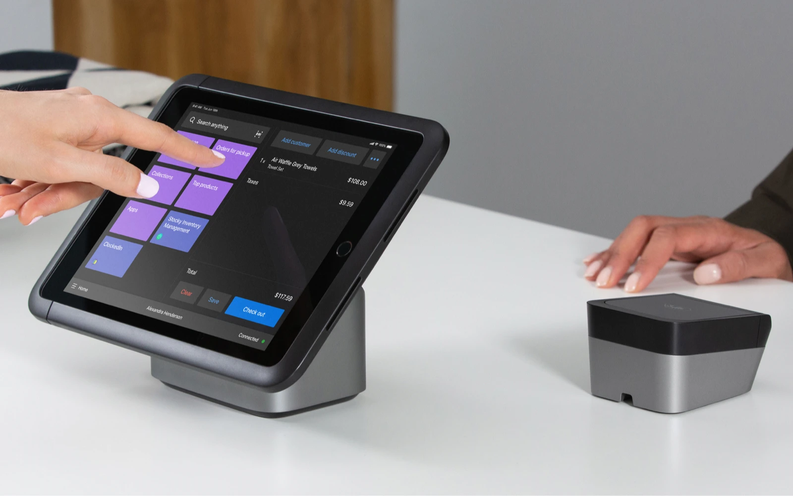 Shopify POS Pro in tablet