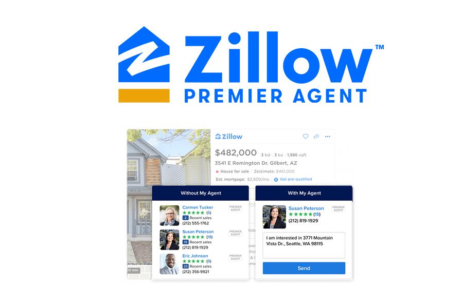 zillow premier homepage