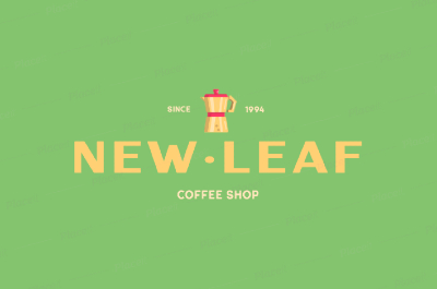 Logo Design Example from PlaceIt - New Leaf