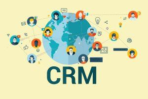 CRM implementation concept