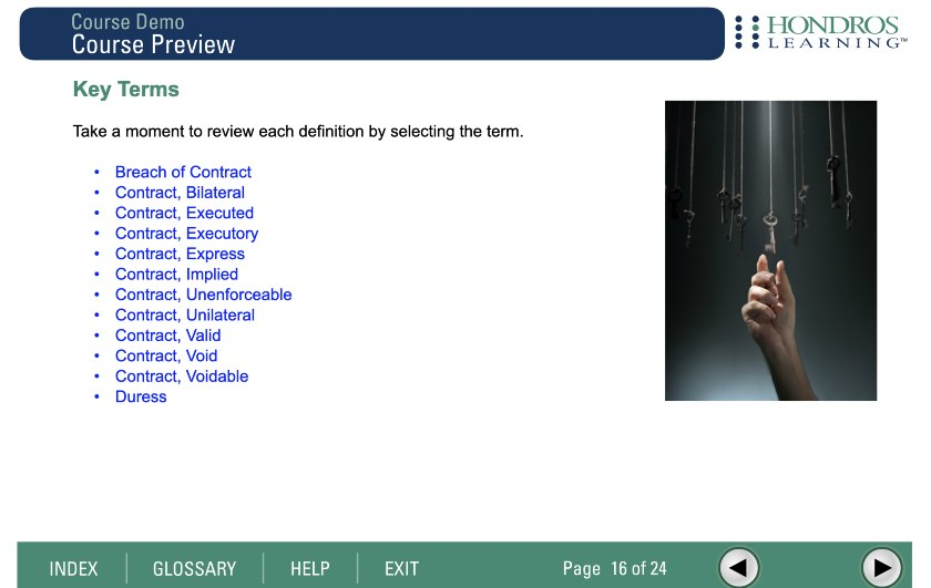 Screenshot of Hondros user dashboard