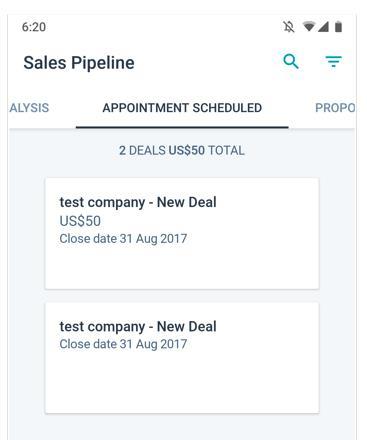 Husbpot Sales Pipeline