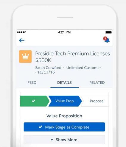 Saleforce Mobile Apps