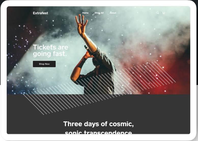 Screenshot of Extrafest