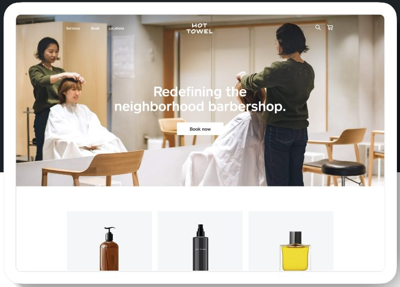 Screenshot of Redefining Barbershop