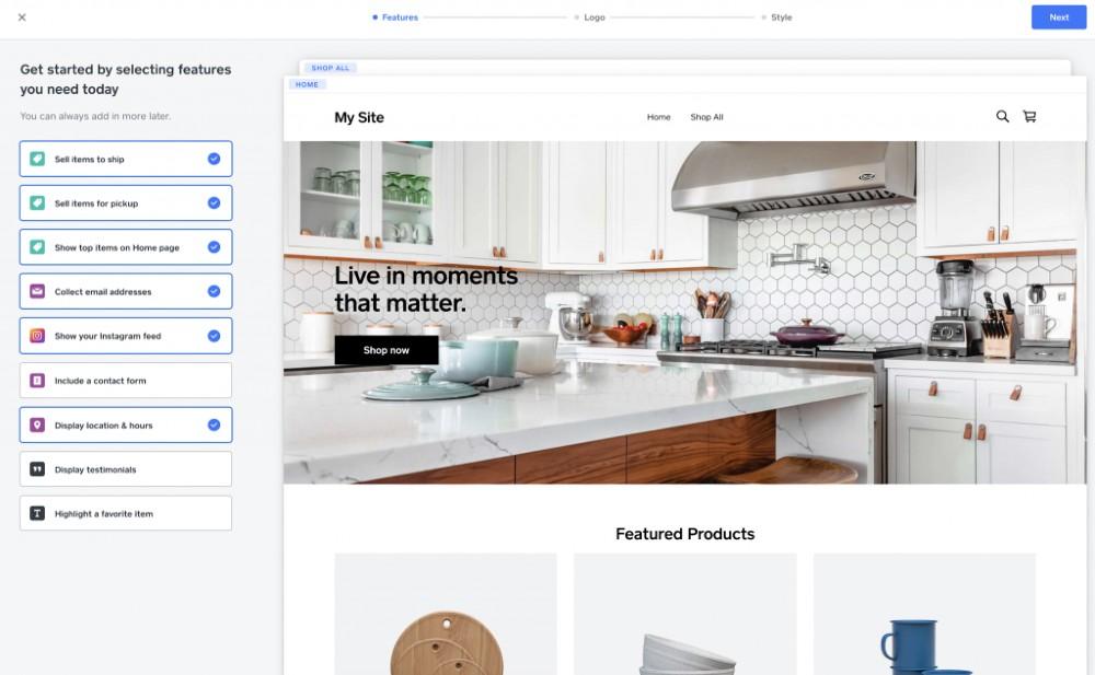 Screenshot of Selling Items