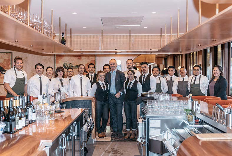 Fine Dining Restaurant staff