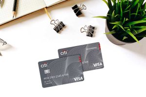 Two Citi Credit Cards in table