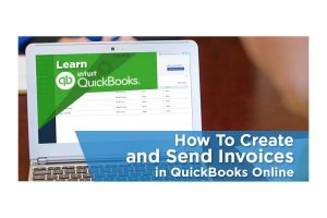 How to create an invoice in quickbooks online