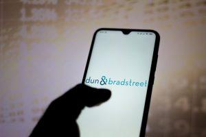 Dun & Bradstreet logo in mobile phone