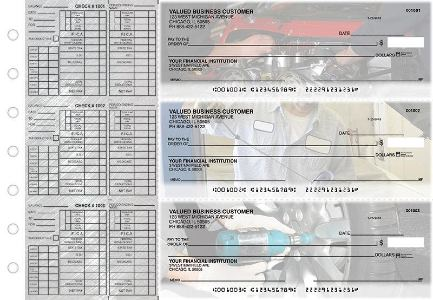 Mechanic Payroll Checks