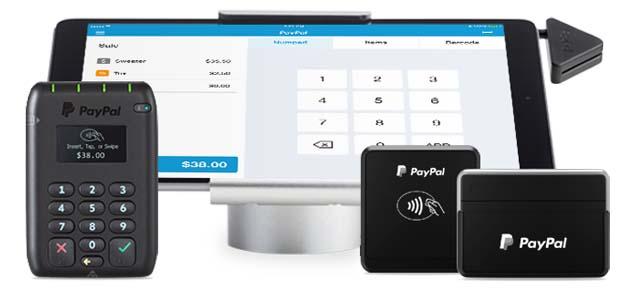 PayPal Here POS Hardwares