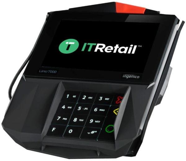 Screenshot of IT Retail Terminal