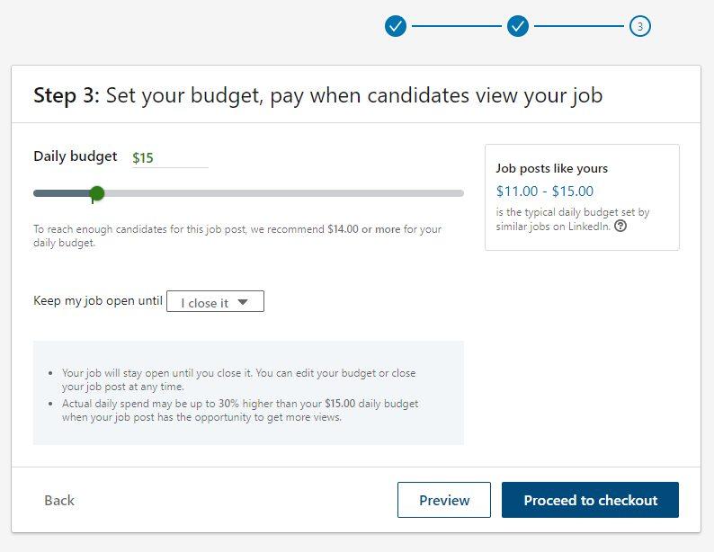 Screenshot of Setting Your Budget