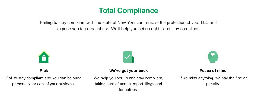 Screenshot of Total Compliance